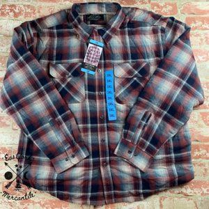 NWT Grizzly Mountain Sherpa Lined Flannel Shirt 3X